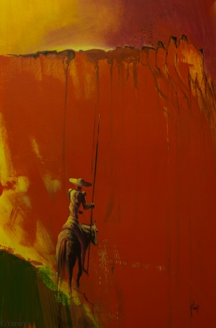 DON QUICHOTTE 92X60 ACRYL